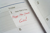 New Year Day On Calendar / 100345