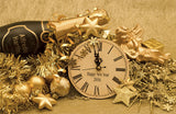 New Year Golden Ornaments / 100343