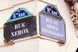 Parisian Street Sign / 100064