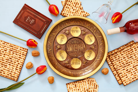 Passover Plate / 100809