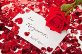 Red Rose On a Card / 100376
