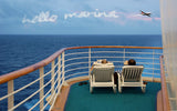 Relaxing On the Ship Deck / 100738