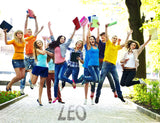 Students Jumping for Joy / 100728