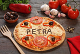 Tomato Pizza and Its Ingredients / 100439