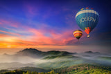 Two Hot Air Balloons / 100712