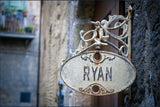 Wrought Iron Sign / 100637