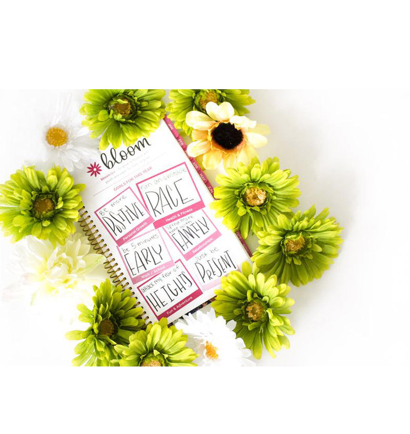 Bloom's The Best Is Yet To Come 2019 Soft Cover Daily Planner Goal Setting for This Year Page