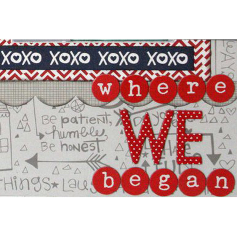 Daydreamer YoYo Red Printed Chipboard Thickers