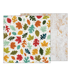 Fallen Leaves 12 X 12 Double Sided Paper