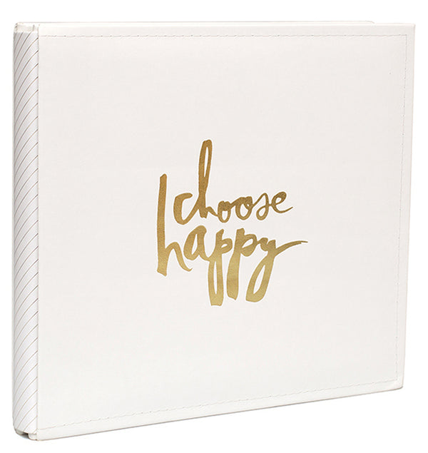 "12"" x 12"" Storyline Cream Choose Happy Album Kit"
