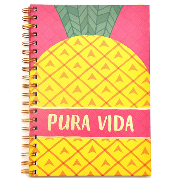 "Pure Vida Hardcover Journal (7.5""x10"")"