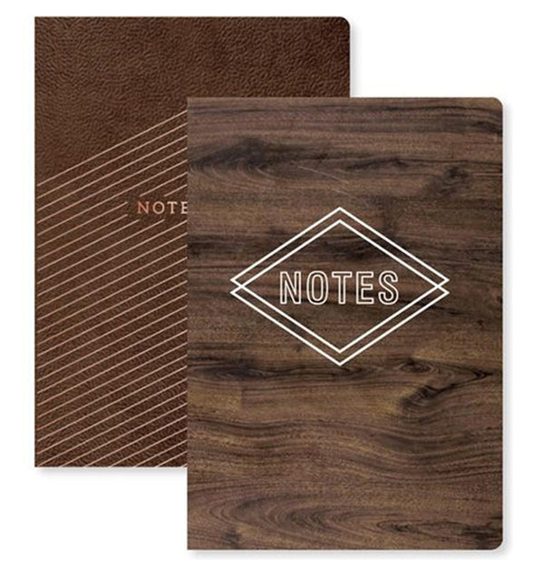 Notebook with Pockets and Inserts 2pcs Pack