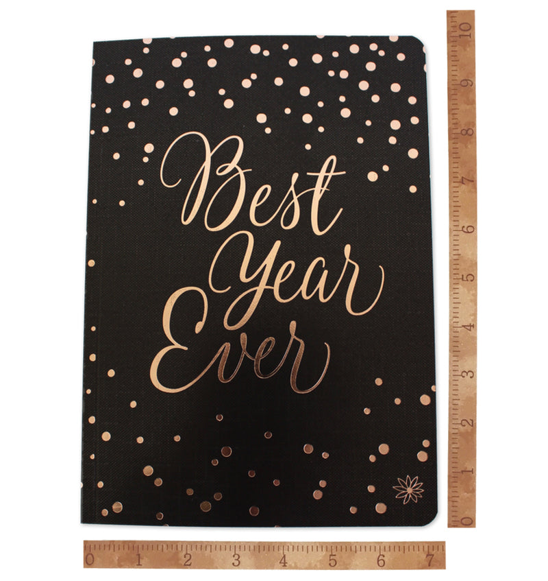 "Best Year Ever Softcover Notebook (7"" x 10"")"