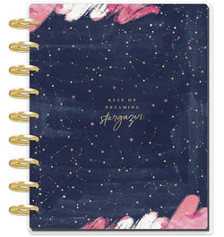 Dreaming Stargazer 2020 Deluxe Classic Medium Happy Planner