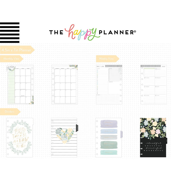 Homebody Deluxe 2020 Mini Happy Planner Page Layout