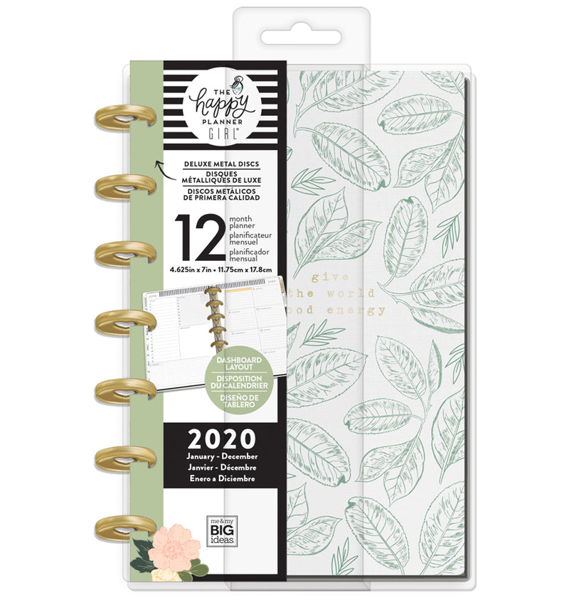 Homebody Deluxe 2020 Mini Happy Planner with Tab