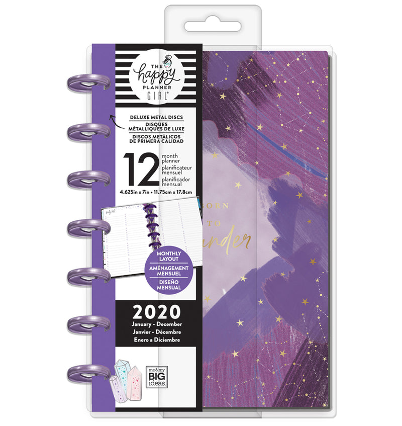 Stargazer Deluxe 2020 Mini Happy Planner with Tab