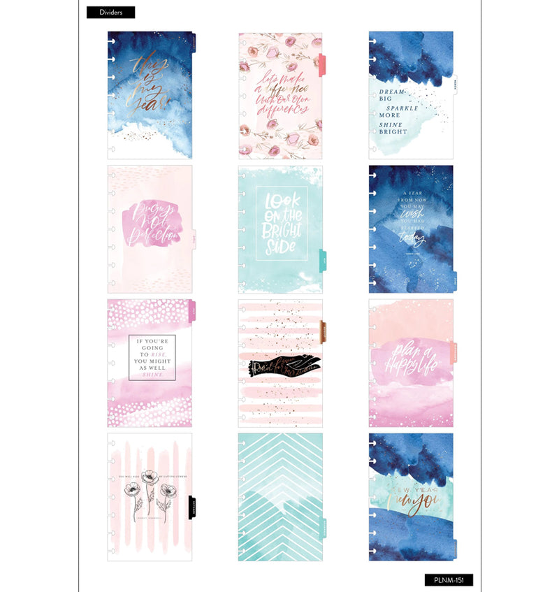 Year To Shine 2020 Mini Happy Planner Dividers
