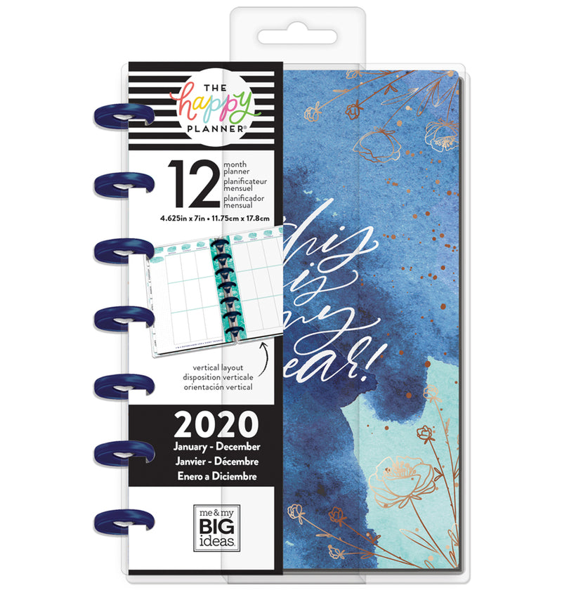 Year To Shine 2020 Mini Happy Planner with Tab