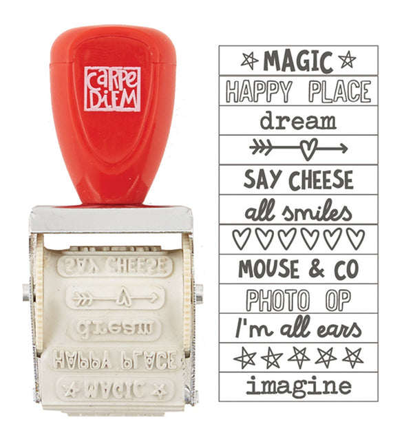 Say Cheese Roller Stamp