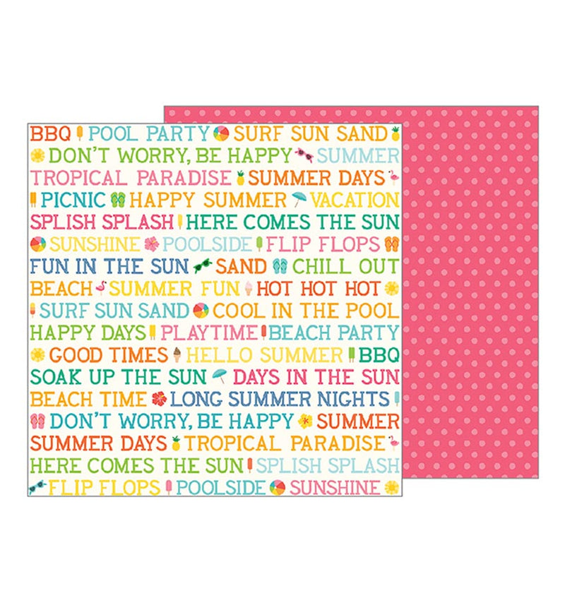 Summer Day 12 x 12 Double Sided Paper
