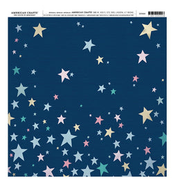 Star Shine Bright 12 x 12 Single Sided Paper