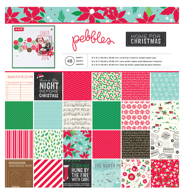 Christmas Collection 12 x 12 Paper Pad 48pcs