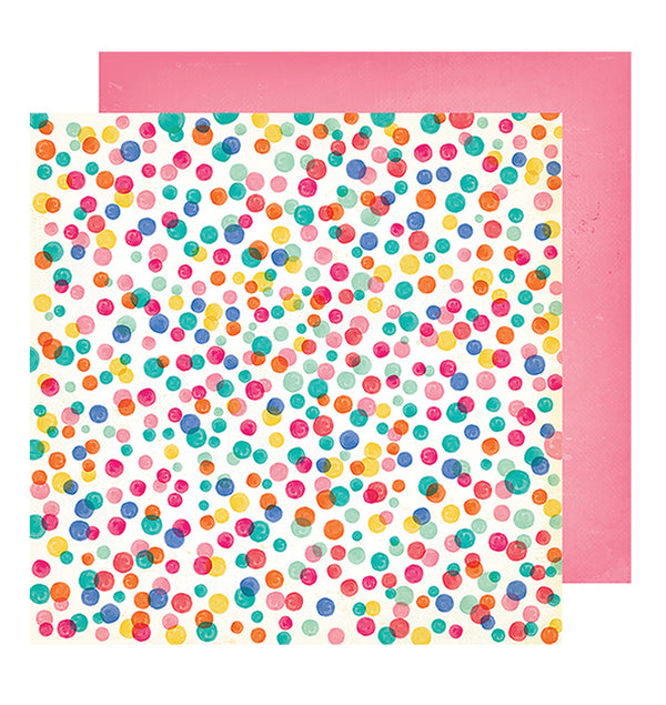 Pop Of Color 12 x 12 Double Sided Paper
