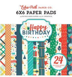 Happy Birthday Boy 6 x 6 Paper Pad