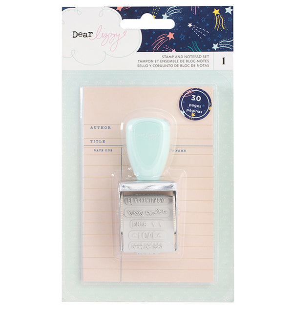 Stamp and Notepad Set