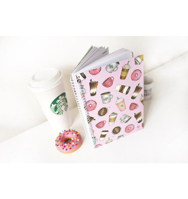 Bloom Coffee Lover 2019 Soft Cover Daily Planner with Binder