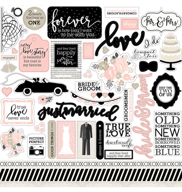 Wedding Bliss Element Stickers