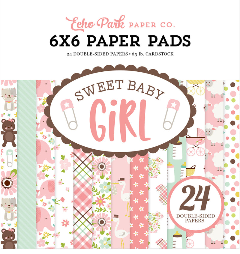Sweet Baby Girl 6 x 6 Paper Pad