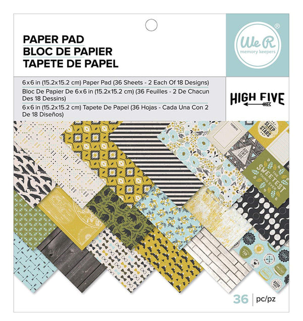 High Five 6 X 6 Paper Pad 36pcs