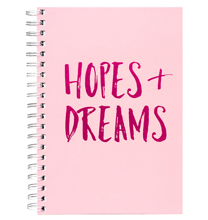 "Hope + Dreams Hardcover Journal (7.5""x10"")"