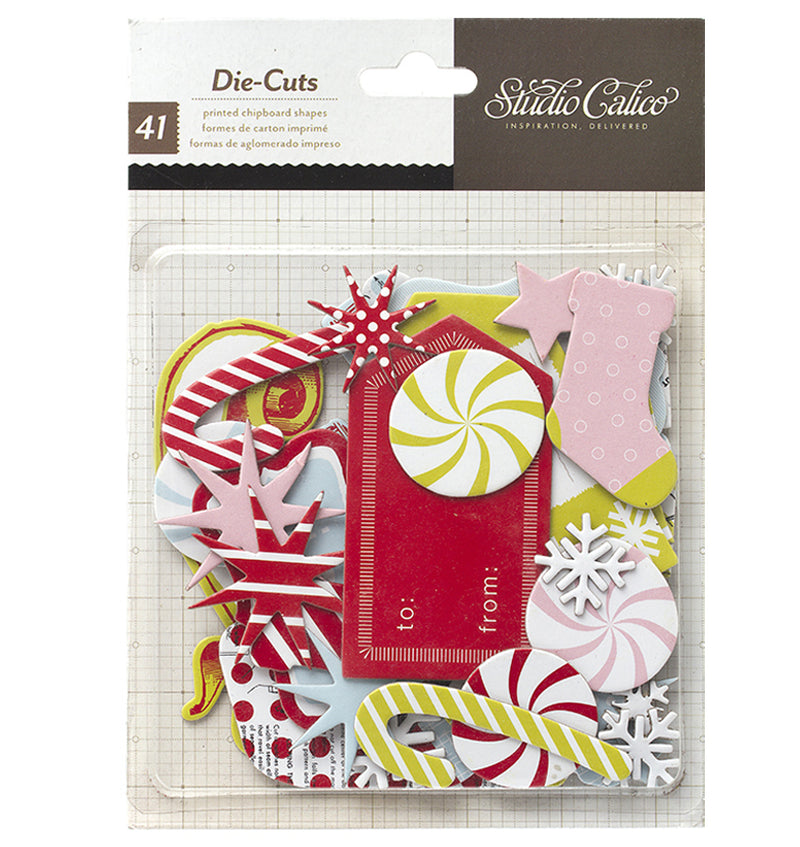 Festive Magical Season Die Cuts 41pcs