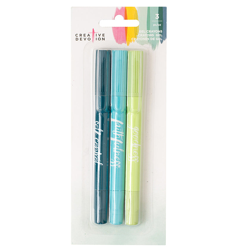 Creative Devotion Collection Gel Crayon Set 1 (3pcs)
