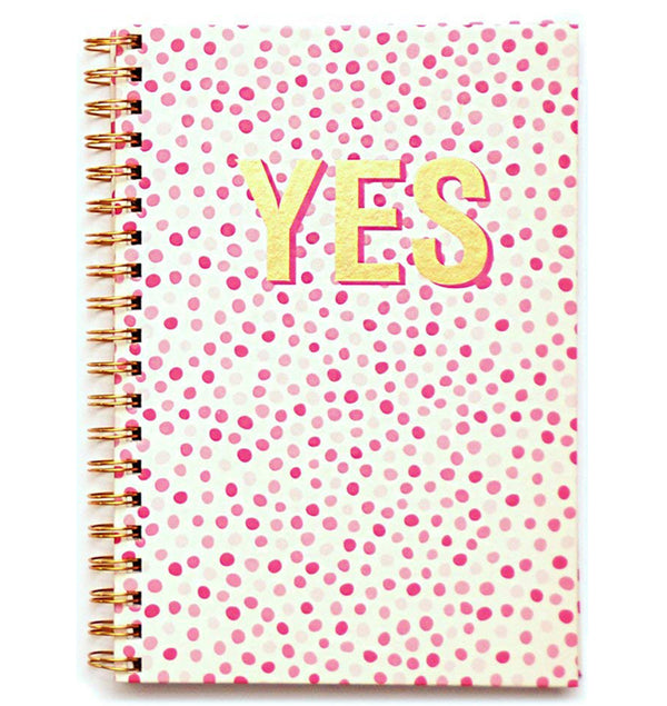 "YES Hardcover Journal (7.5""x10"")"