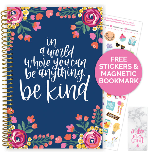 Be Kind 2020-2021 Soft Cover Daily Planner