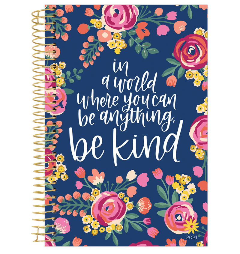 Be Kind 2021 Soft Cover Daily Planner
