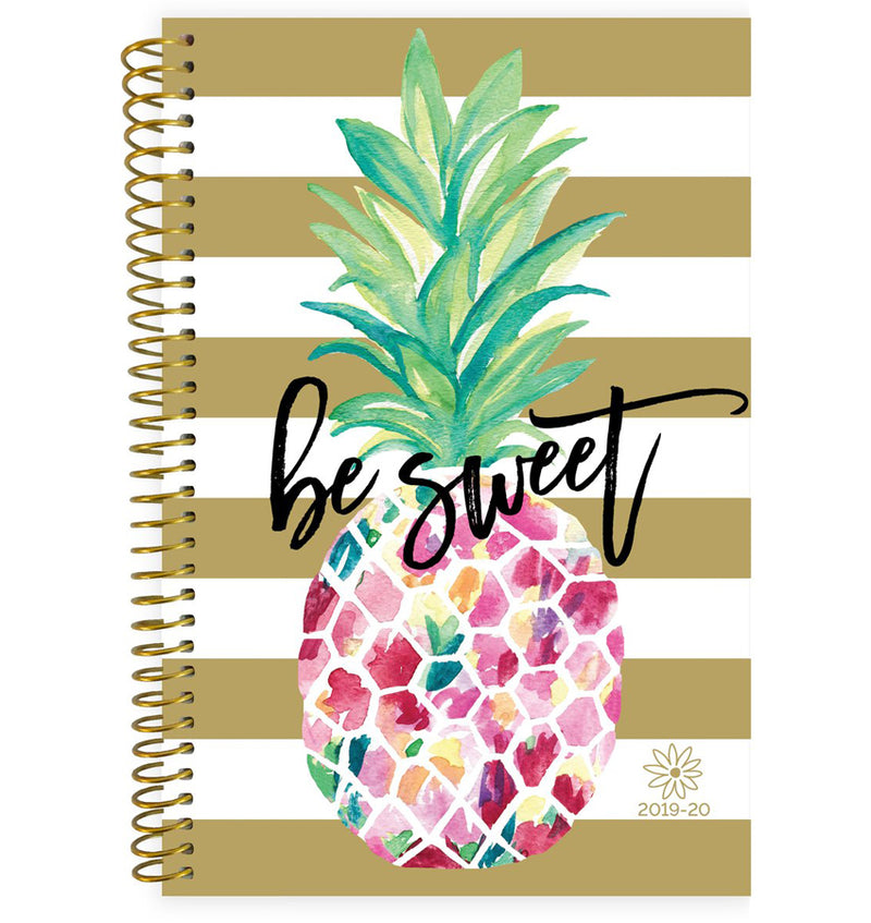 Be Sweet Pineapple 2019-2020 Bloom Soft Cover Daily Planner