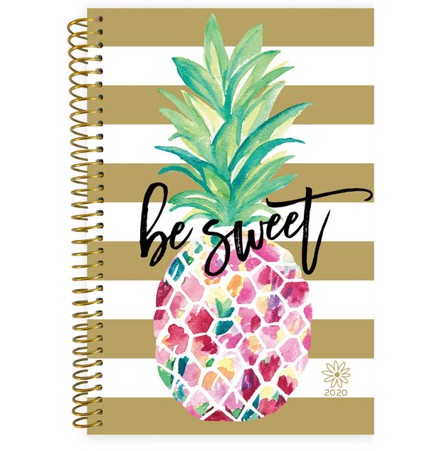 Bloom Be Sweet Pineapple 2020 Soft Cover Planner