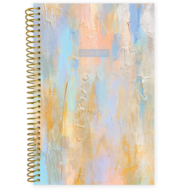 Beach Glass 2020-2021 Soft Cover Daily Planner