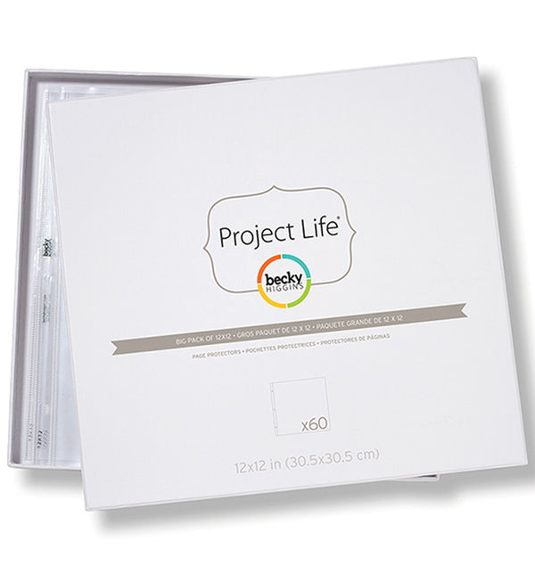 Project Life Big Pack 12 x 12 Page Protector (60pcs)