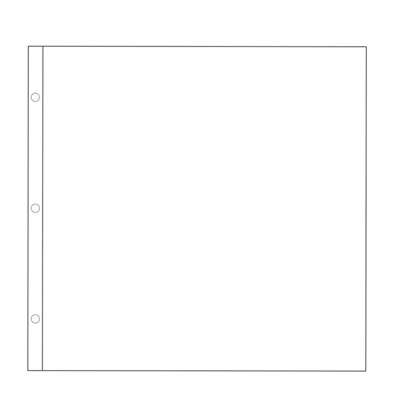 Project Life Big Pack 12 x 12 Page Protector (60pcs) Size
