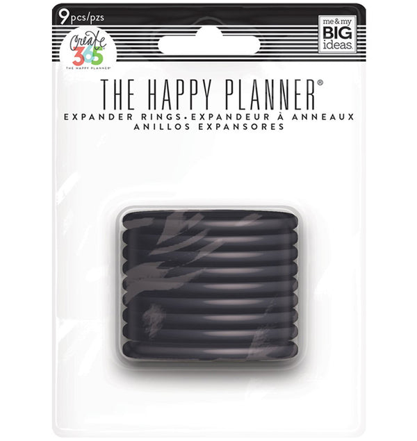 Expander Happy Planner Black Discs (11pcs)
