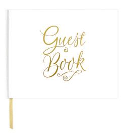 Bloom's Classic Gold Foil Hardcover Guest Book