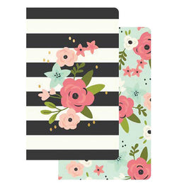 Carpe Diem Bloom Collection Traveller Notebook Inserts