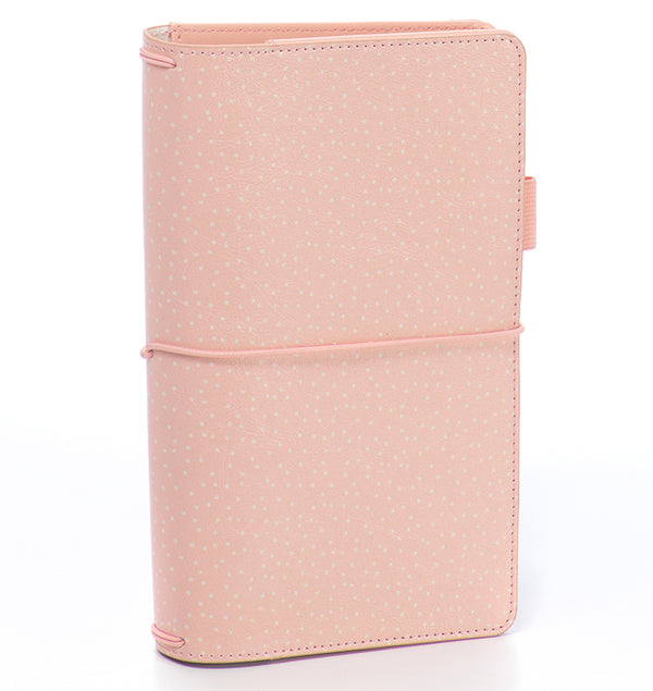 Carpe Diem Blush Speckle Traveller's Notebook