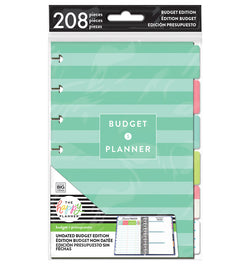Budget Expansion Pack (Mini Happy Planner) 208pcs Cover